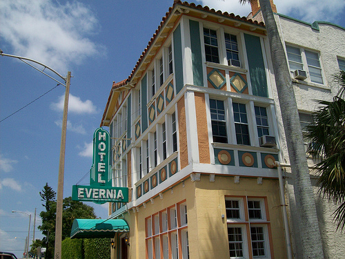 Hotel Evernia is located at 609 Evernia Street West Palm Beach. 33401 561 • 832 • 6862