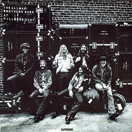 The Allman Brothers Historical Monumental Live Fillmore East Performance