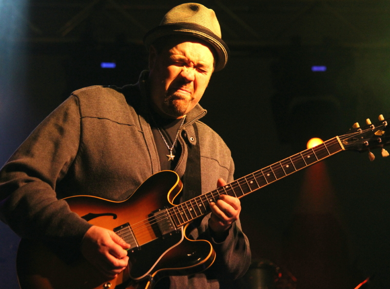 Stellar Guitarist Eric Krasno's Soulful Style Rainbow Colored the Bear Creek Jams!