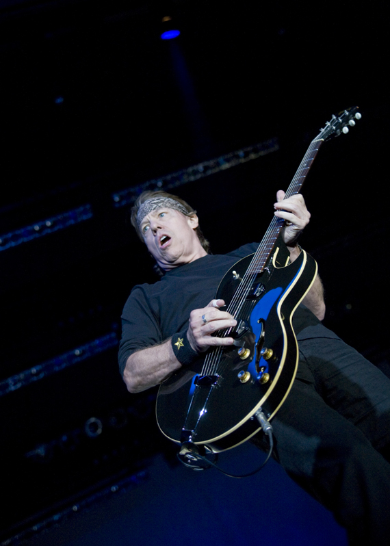 George Thorogood rocked Boca Raton's Sunset Cove Amphitheatre on Friday November 13