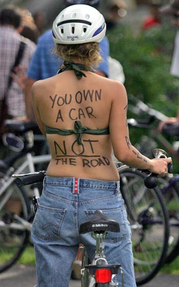Respect Cyclists • Share The Road • Build A Bike Friendly America! Enjoy Riding!